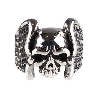 prsten ETNOX - Winged Skull, ETNOX