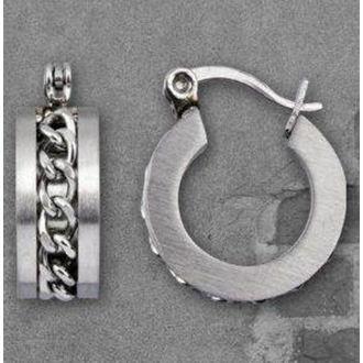 náušnice ETNOX - Mesh Steel - SO457