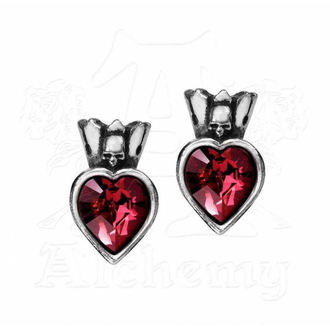 náušnice ALCHEMY GOTHIC - Claddagh Heart, ALCHEMY GOTHIC