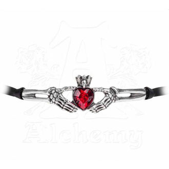 obojek ALCHEMY GOTHIC - Claddagh By Night - P781
