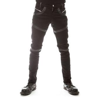 kalhoty pánské VIXXSIN - GRAVITY - BLACK - POI214