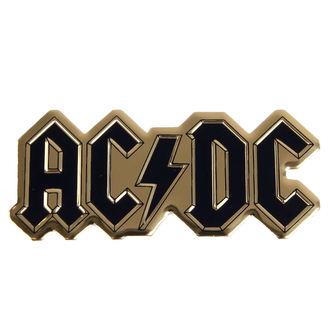 nálepka nejmenší (kovová) AC/DC - Logo - S-7621-M