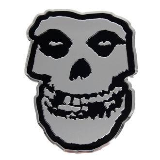 nálepka malá (kovová) Misfits - Skull, C&D VISIONARY, Misfits