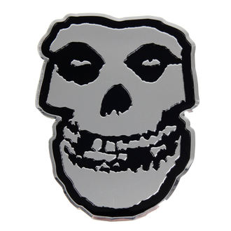 nálepka nejmenší (kovová) Misfits - Skull, C&D VISIONARY, Misfits