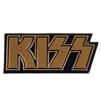 nálepka nejmenší (kovová) KISS - Logo, C&D VISIONARY, Kiss