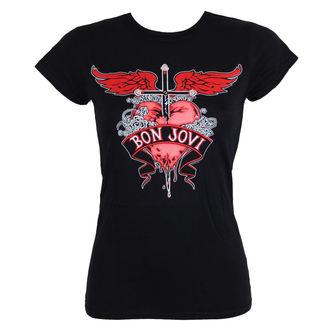 tričko dámské BON JOVI - HEART & DAGGER - LIVE NATION, LIVE NATION, Bon Jovi