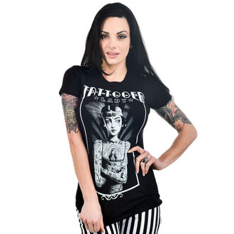 tričko dámské TOO FAST - BABYDOLL - TATTOOED LADY - TOO033