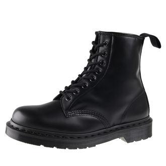 boty Dr. Martens 8 dírkové - DM 1460 MONO BLACK SMOOTH, Dr. Martens