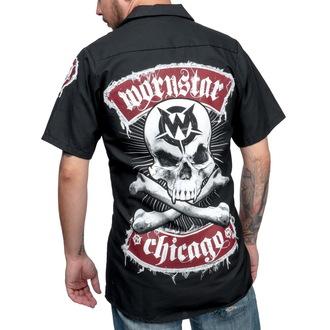 košile pánská WORNSTAR - Skull, WORNSTAR