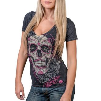 tričko dámské WORNSTAR - Calavera