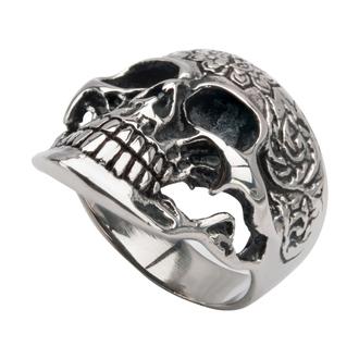 prsten INOX - SKULL