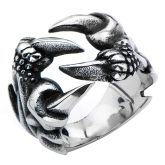 prsten INOX - BLK CROW FEET, INOX