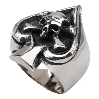 prsten INOX - SKULL SPADE, INOX