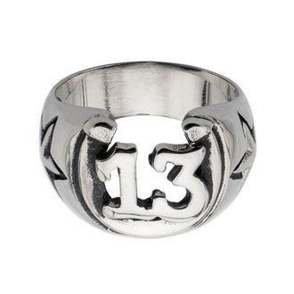 prsten INOX - BLK LCKY13 HORSHOE, INOX