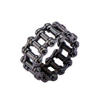 prsten INOX - MOTO CHAIN BLACK, INOX