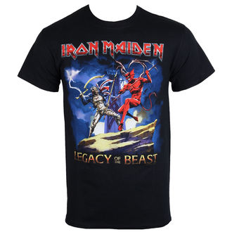 tričko pánské Iron Maiden - Legacy Beast Fight - ROCK OFF - IMTEE59MB