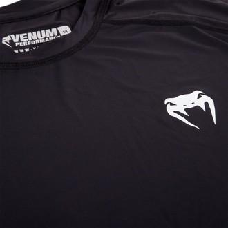 tričko pánské s dlouhým rukávem (termo) VENUM - Contender 2.0 Compression - Black/Ice