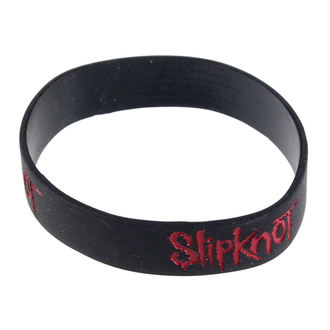 náramek Slipknot - Logo - ROCK OFF, ROCK OFF, Slipknot