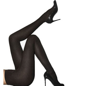 punčocháče PAMELA MANN - Cashmere - Black - PM1005