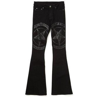 kalhoty dámské KILLSTAR - Hell Hound Flares