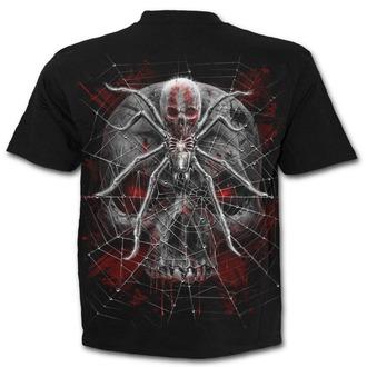 tričko pánské SPIRAL - SPIDER SKULL - Black
