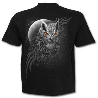 tričko pánské SPIRAL - WINGS OF WISDOM - Black - E022M101