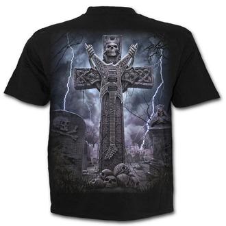 tričko pánské SPIRAL - ROCK ETERNAL - Black - T136M101