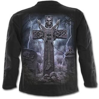 tričko pánské s dlouhým rukávem SPIRAL - ROCK ETERNAL - Black - T136M301