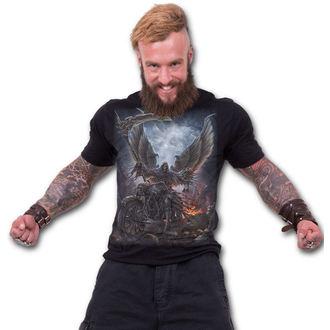 tričko pánské SPIRAL - RIDE OR DIE - Black