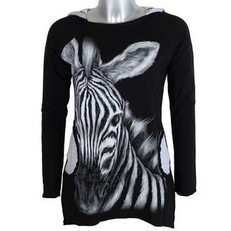 tričko dámské s dlouhým rukávem ALISTAR - Zebra, ALISTAR