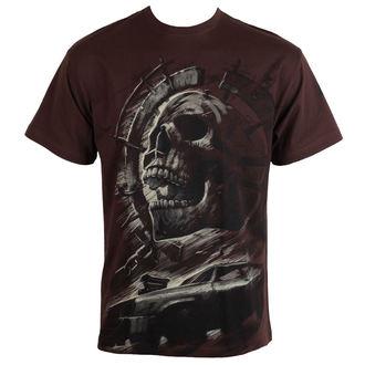 tričko pánské ALISTAR - Wasteland - brown - ALI 319