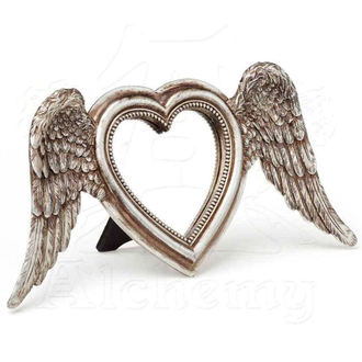 dekorace (zrcadlo) ALCHEMY GOTHIC - Winged Heart (Wings Down), ALCHEMY GOTHIC