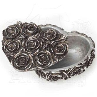 dekorace (šperkovnice) ALCHEMY GOTHIC - Rose Heart - SA8