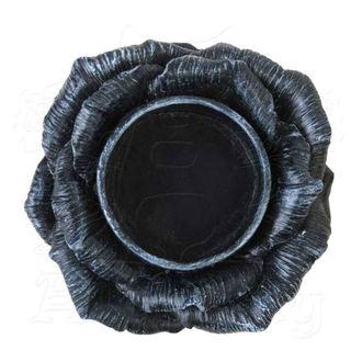 dekorace (svícen) ALCHEMY GOTHIC -  Black Rose, ALCHEMY GOTHIC