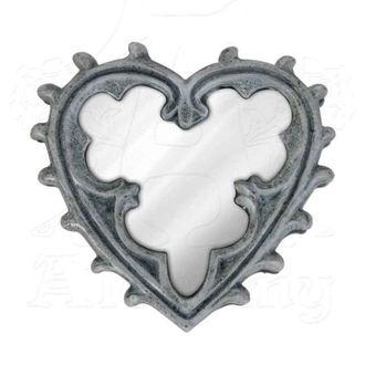 dekorace (zrcátko) ALCHEMY GOTHIC - Gothic Heart - V38