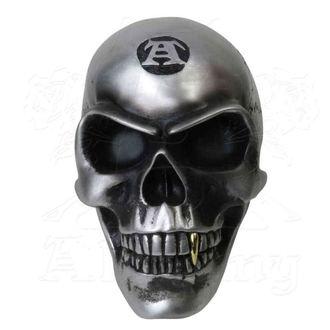 dekorace ALCHEMY GOTHIC - Metalised Alchemist Skull, ALCHEMY GOTHIC