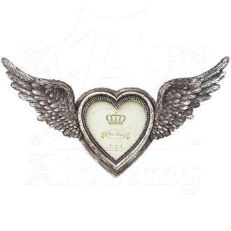 dekorace (fotorámeček) ALCHEMY GOTHIC - Winged Heart(Wings Open), ALCHEMY GOTHIC