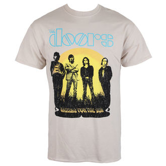 tričko pánské The Doors 1968 Tour - Sand - ROCK OFF - DOTTRTW01MS