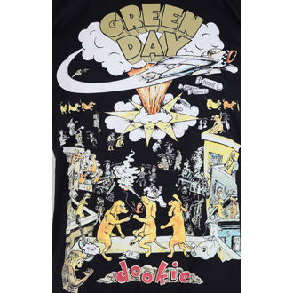 tričko pánské Green Day 1994 Tour - Black - ROCK OFF - GDTTRTW01MB