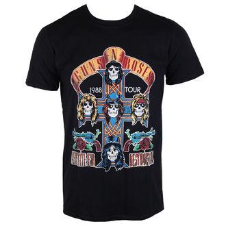 tričko pánské Guns N' Roses - Summer Jam 1988 - Black - ROCK OFF - GNRTTRTW01MB