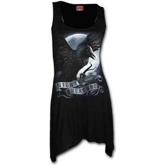 šaty dámské (top) SPIRAL - Night Creature - Black, SPIRAL