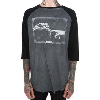 tričko pánské s 3/4 rukávem IRON FIST - IFM004740-Black/Charcoal