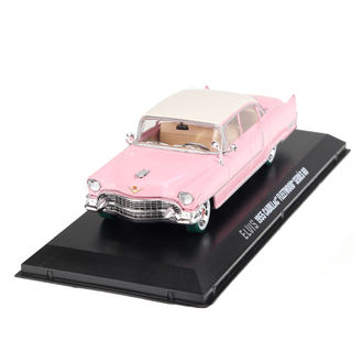 dekorace Elvis Presley - Cadillac Fleetwood - pink with white roof, Elvis Presley