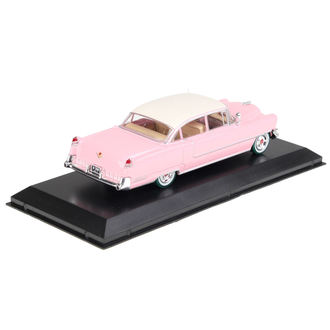 dekorace Elvis Presley - Cadillac Fleetwood - pink with white roof