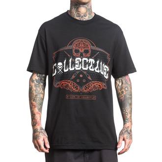 tričko pánské SULLEN - COLLECTIVE SCRIPT - BLACK - SCM0110_BK