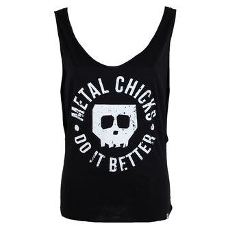 tílko dámské METAL CHICKS DO IT BETTER - Skull - MCDIB013