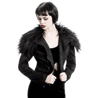 bunda dámská KILLSTAR - Selene Fur Biker, KILLSTAR