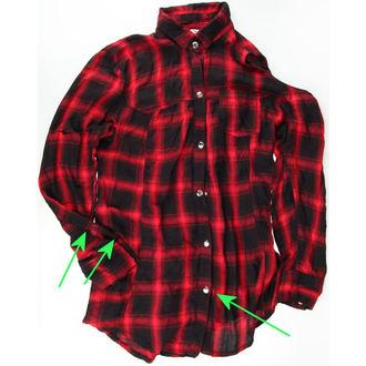 košile dámská HEARTLESS - Triant - Red - POŠKOZENÁ - NS2022