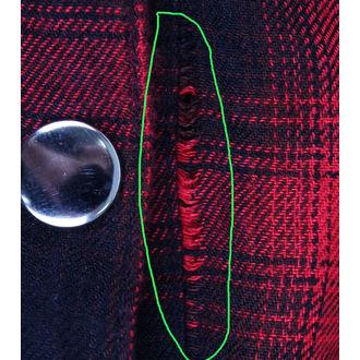 košile dámská HEARTLESS - Triant - Red - POŠKOZENÁ, HEARTLESS