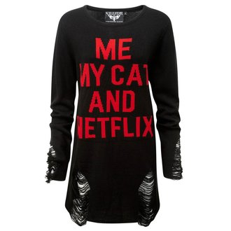 svetr unisex KILLSTAR - My Cat Distress, KILLSTAR
